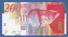 - 2002 - Israel 200 P 62 b 2002 Unc Signatures Klein Lorincz