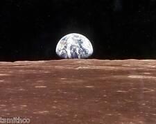 Earth from Apollo 11 8x10 Photo 001