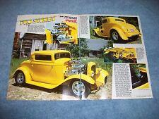 1932 Ford 3-Window Coupe Pro Street Article Blown 426 Hemi