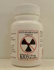 KIO3 Potassium Iodate Nuclear Anti Radiation 170 mg