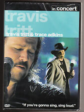 TRAVIS TRITT & TRACE ADKINS IN CONCERT - NEW & SEALED R2 DVD