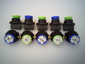 Fits Jeep 10 B&G 4 LEDs Dashboard Instrument Panel Indicator Light Bulb Socket