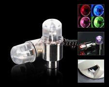 Neon Led Car Motorcycle Bicycle Bike Wheel Tyre Tire Value Cap Stem Light Lamp