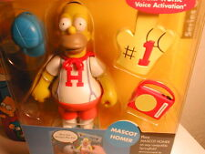 2002 The SIMPSON`s interactive figure WOS series 6 MASCOT HOMER (non-mint card)