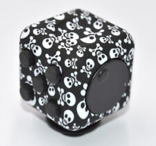 Magic Fidget Cube Anxiety Stress Relief Focus 6-side for Adults Child-Skull