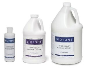Biotone Deep-Tissue Massage Lotion (3 Different Sizes)
