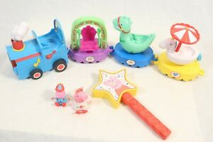 Peppa Pig Peppa's Magical Parade Train Playset + 2 Action Figures George