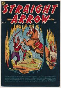 Straight Arrow Issue 4 Western Golden Age Comic AUGUST 1950 Magazine Enterprises