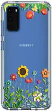 Samsung Galaxy S20 Case Cute Floral Slim Crystal Clear Soft Bumper Phone Cover