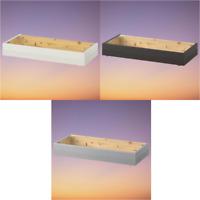 *New* HAVSTA Plinth, 81x37x12 cm, White, Dark Brown & Grey *Brand IKEA*
