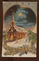 """""""Merry Christmas"""" Russia , old postcard"""