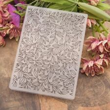 Leaves Plastic Embossing Folder Template DIY Scrapbook Paper Card Craft