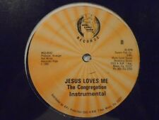 "THE CONGREGATION Jesus Loves Me MIAMI GOSPEL SOUND Modern Soul 12"" HEAR"