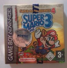 Super Mario Advance 4: Super Mario Bros. 3 New and Sealed Game Boy Advanced