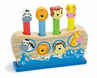 NEW - Toys - Pop Up -Wooden - Noah's Ark