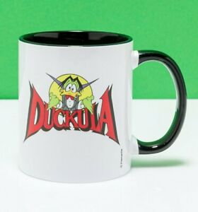 Official Count Duckula Black Handle Mug
