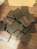 Nes Nintendo Game Cart Sleeves Dust Covers Lot Of 4