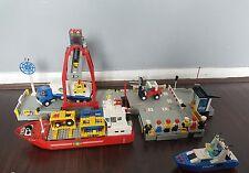 RARE VINTAGE LEGO 6542 LAUNCH & LOAD SEAPORT SHIP  1991