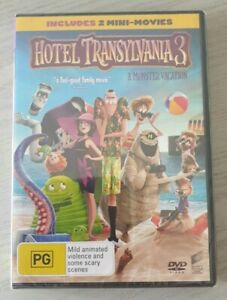 Hotel Transylvania 3 A Monster Vacation DVD Region 4 NEW And Sealed Free Postage