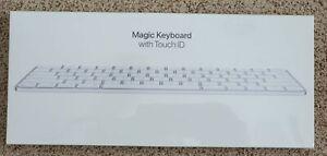 APPLE Magic Keyboard w/ Touch ID (SILVER) A2449 for M1 iMac Mac Mini NEW SEALED