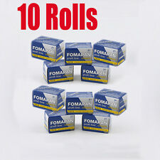 10 Rolls Foma Fomapan 100 Classic 35mm 135-36  B&W  Film Fresh 2022
