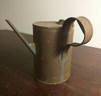 Collectable Vintage Oil Pouring Tin with Narrow Spout