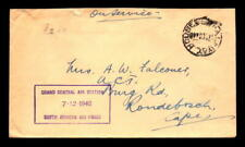 1940 British Sa Air Force Central Station Cover - L5416