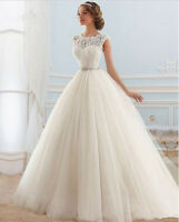 A-Linie Spitze Brautkleid Hochzeitskleid Kleid Braut Babycat collection BC710