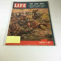 VTG Life Magazine January 6 1961 Civil War 6 Part Series Nation Bloodiest Drama