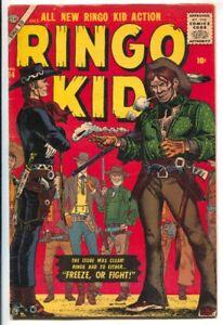 Ringo Kid #14 1956- Atlas -Joe Maneely western intimidation cover-Dick Ayers ...