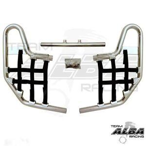 2009-2018 2006-08 Fits: Honda TRX250EX TRX250X XFR Aluminum Cooler Rack Six Pack Grab Bar