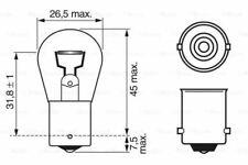 Bosch 1987302280 Front Signal Lamp Car Bulb P21W 12 V 21 W