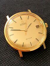 Vintage Omega de Ville gents watch solid gold 18k , waterproof ref. 166.033