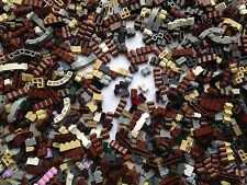 LEGO - NEW Wall Bricks / Masonry, Log, Grille Etc / 25 Random Pieces Per Order