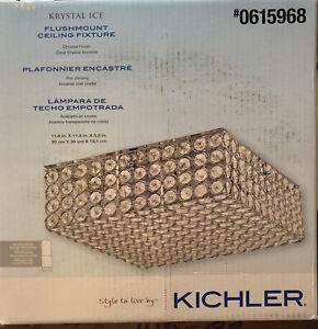 Kichler Kyrstal Ice Flushmount Ceiling Fixture #0615968