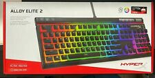 HyperX Alloy Elite 2 – Mechanical Gaming Keyboard, Linear Red switch NEW SEALED