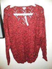 NWT B_ENVIED USA Red And Black Sweater