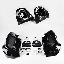 2014 Up Lower Vented Fairing Glove Box Speaker Pod 4 HD Road King Street Glide
