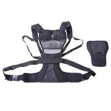 Camera Carrier Harness Holster for Digital SLR Camera Photographer + Side Holste