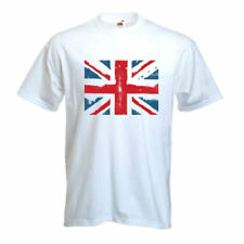 Football Union Jack Cotton T-Shirts for Men