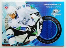 2013-14 KHL Gold Collection Part of the Game #JRS-025 Talgat Zhailauov 079/200