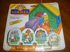New Little Lionel 8 piece People Pack compatible with Brio Wooden Railways