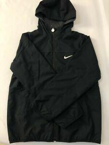 Junior NIKE SWOOSH Fully Reversible Jacket With Hood Full Zip Versatile Pockets