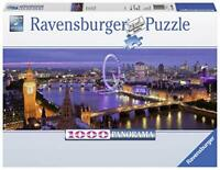 Ravensburger Jigsaw Puzzle LONDON AT NIGHT London Eye Big Ben 1000 Piece