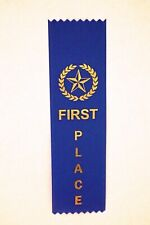 Lot Of 100 1st Place Award Ribbons (School, Contest, Sports)