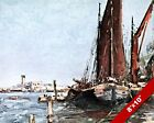 GREENHITHE LONDON OLD ENGLAND ENGLISH BRITISH ART REAL CANVAS PAINTING PRINT
