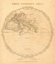 ANCIENT WORLD. Orbis Veteribus Notus. Europe Africa Asia. ARROWSMITH 1828 map