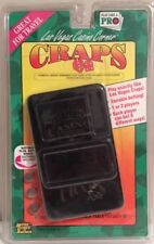NIB>>Electronic Craps Game with Protective Case and Batteries>>Ages 12 and Up
