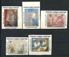 Mauritania 1981 Mi. 721-725 Nuovo ** 100% La pittura non dentellati