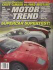 Motor Trend 07/1990 featuring Ferrari F40, Lotus Esprit, Porsche 959,Lamborghini